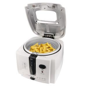 Meykey Electric Deep Fryer Cool-touch
