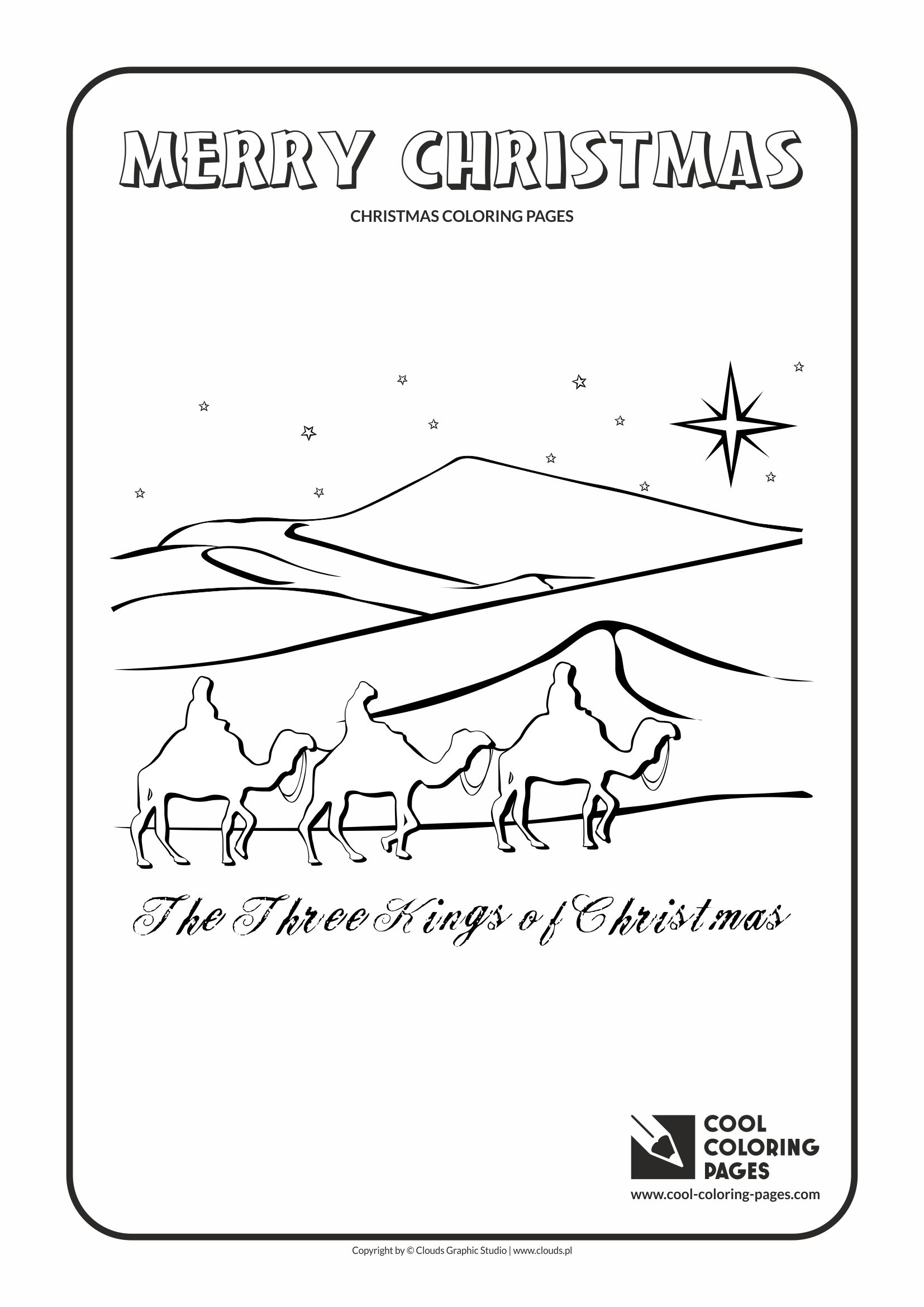 3 kings coloring pages