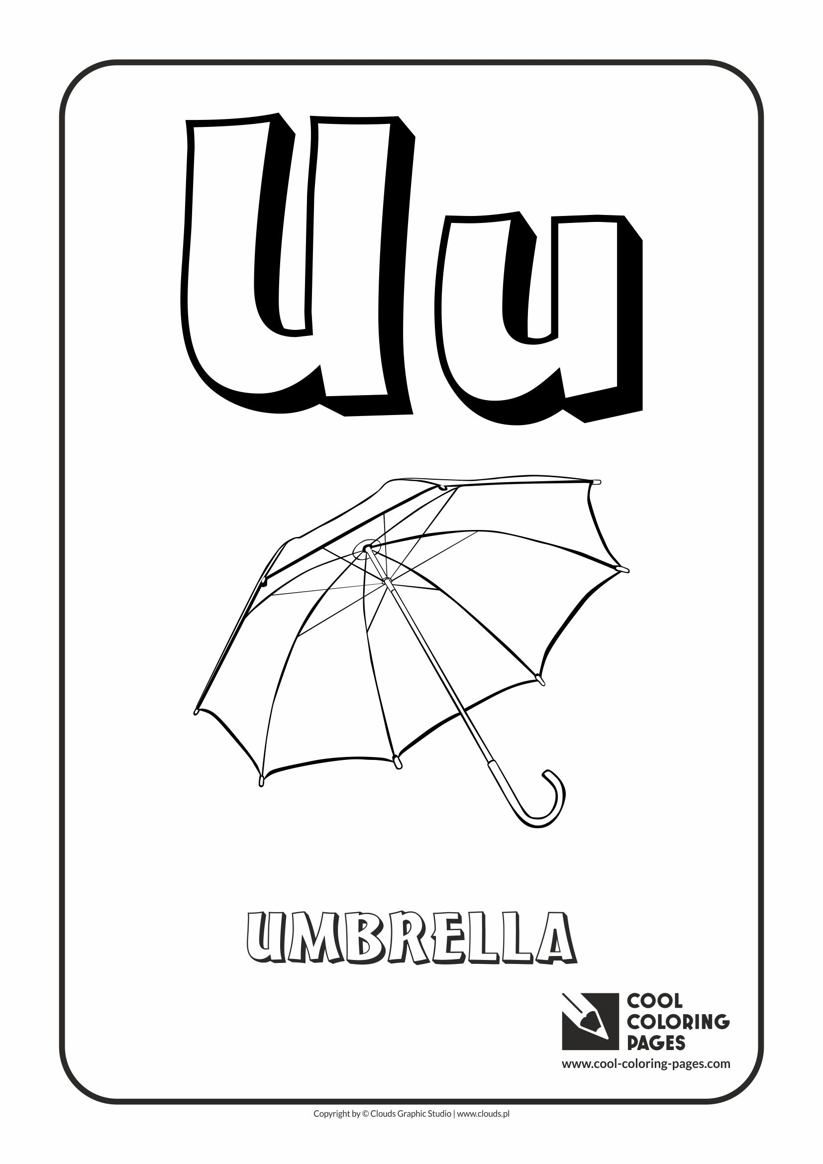 Short u coloring pages - Letter U Coloring Pages Free Printable Coloring Pages Free Coloring Page With Letter U Download