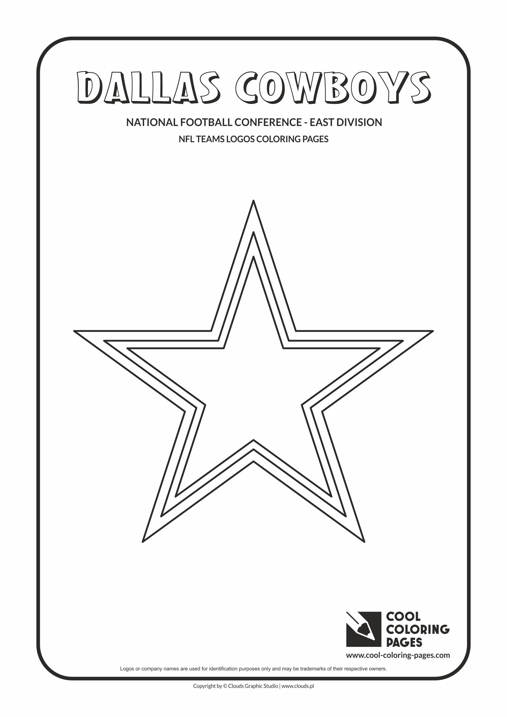 coloring pages nfl - Nfl Football Logos Coloring Pages