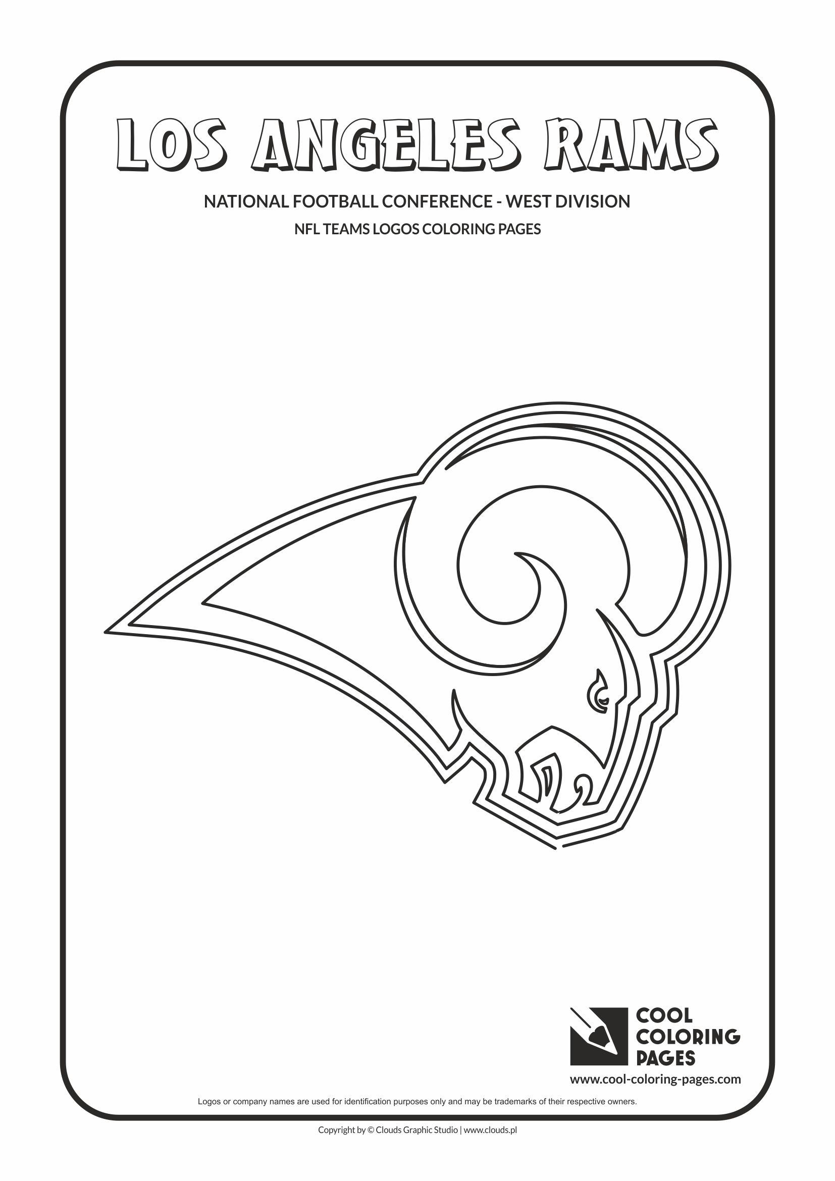 coloring pages free printable football logos