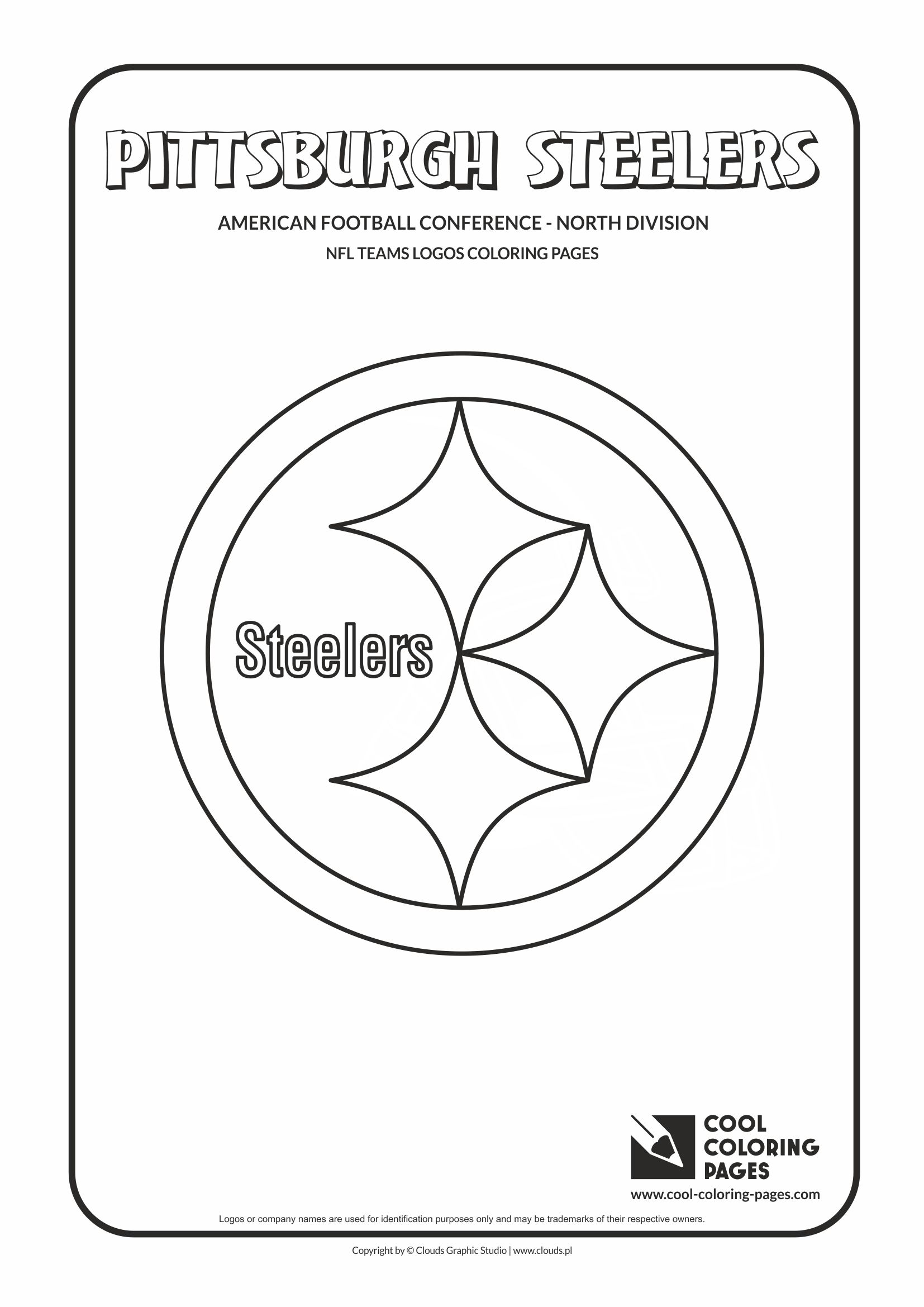 coloring pages nfl - Football Coloring Pages Nfl Logos
