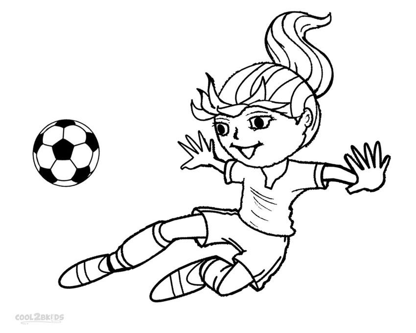 Football Player Coloring Page - Eskayalitim