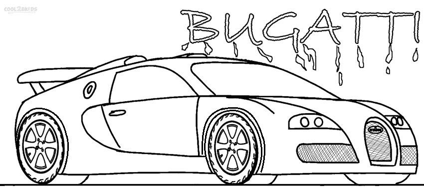 Bugatti Motordiagramm
