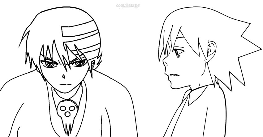 Soul Eater Coloring Pages - Eskayalitim