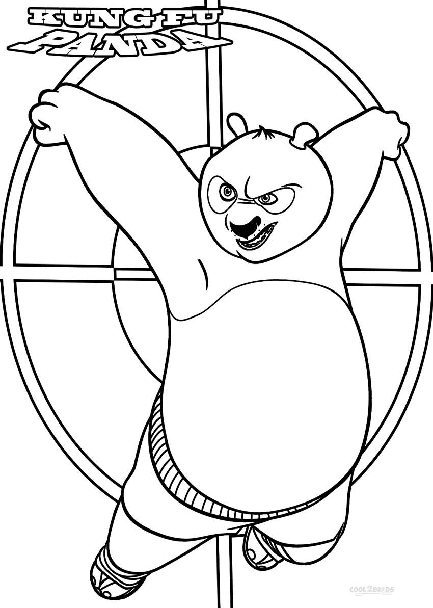 Printable coloring pages kung fu panda 2 -  Printable Kung Fu Panda Coloring Pages Download