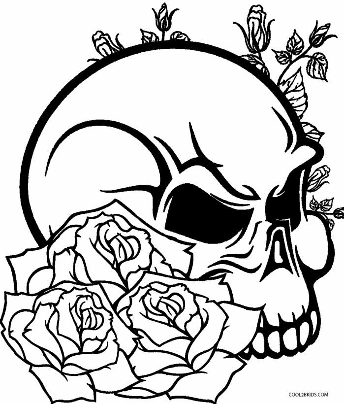 Printable Rose Coloring Pages For Kids Cool2bKids - culring pags