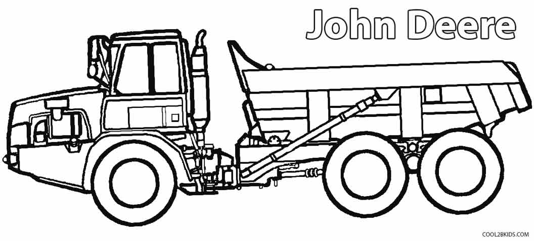 Printable John Deere Coloring Pages For Kids Cool2bKids - culring pags