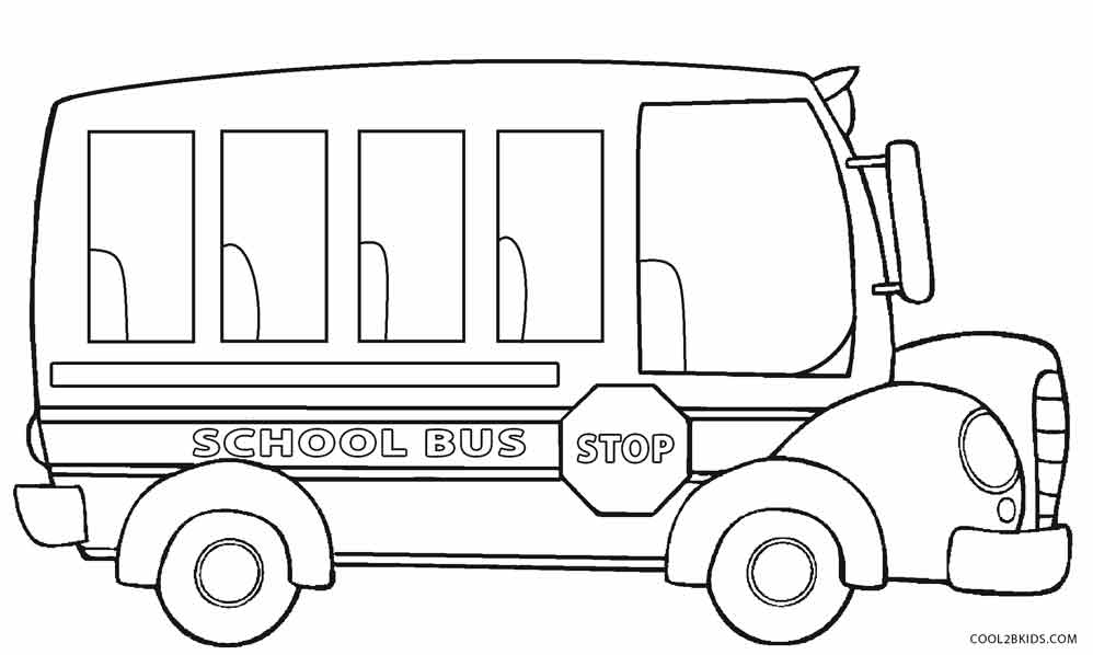 Bus Driver Coloring Pages SaveEnlarge