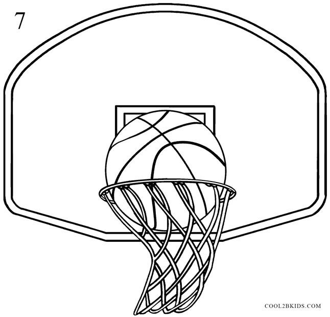 drawings of basketballs - Goalblockety