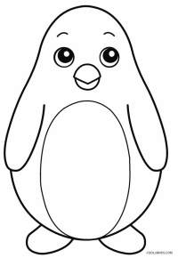 Printable Penguin Coloring Pages For Kids | Cool2bKids