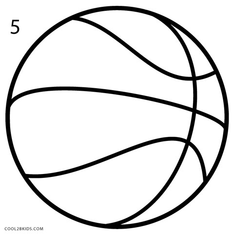 How to Draw a Basketball (Step by Step Pictures) Cool2bKids