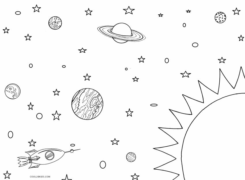 solar system coloring sheets printable solar system