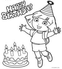 Dora Coloring Pages | Coloring Pages