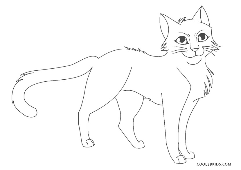 Warrior Cats Coloring Pages - Eskayalitim