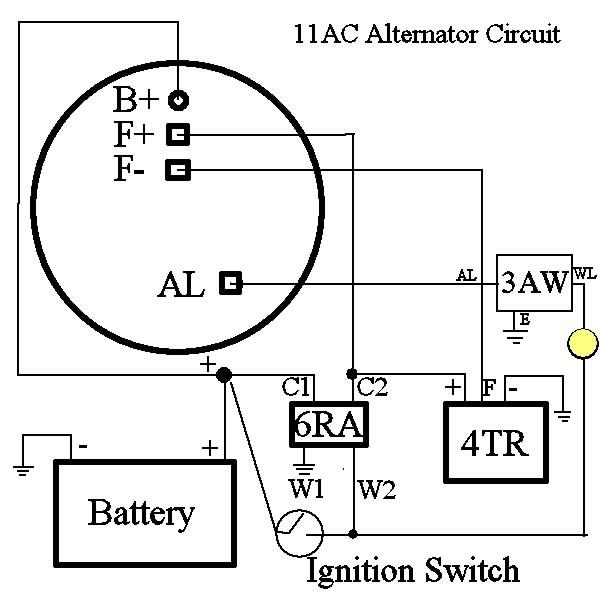 4 Wire Denso Alternator Wiring Diagram - 9vzumkettreviewgamesinfo \u2022
