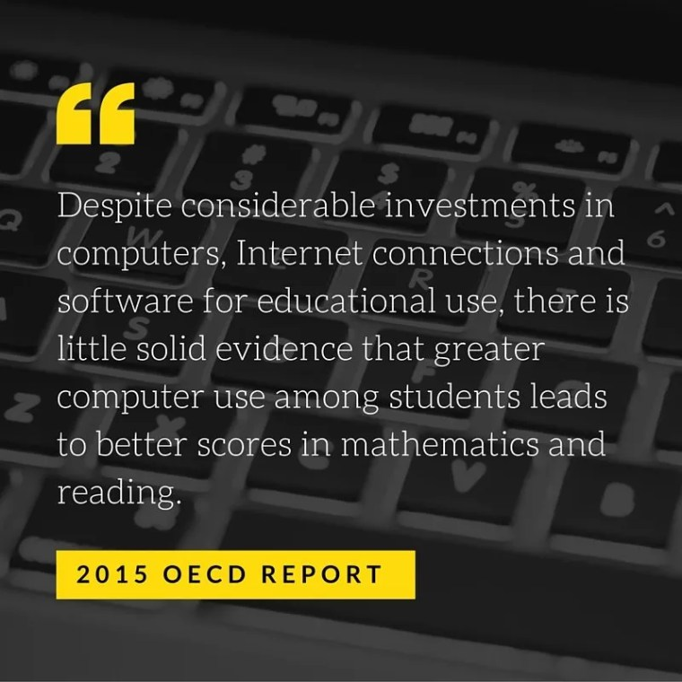 OECD report about technology