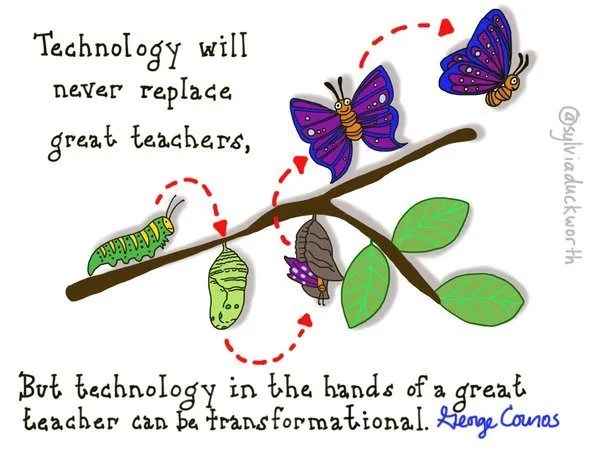 technology will never replace teachers