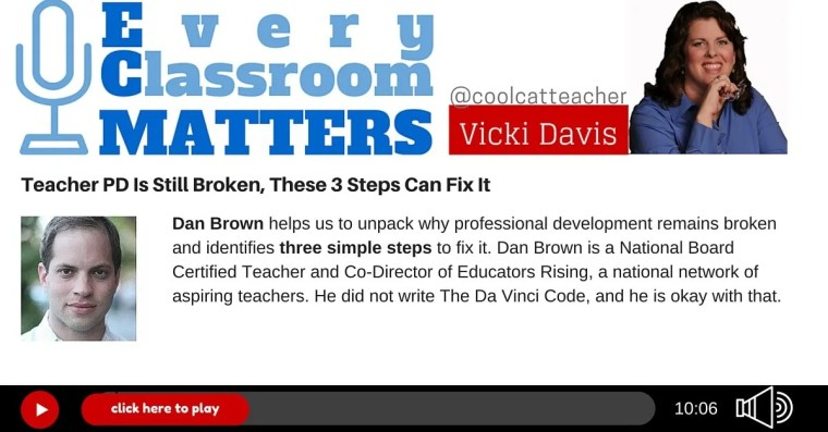 Dan Brown Teacher professional development PD