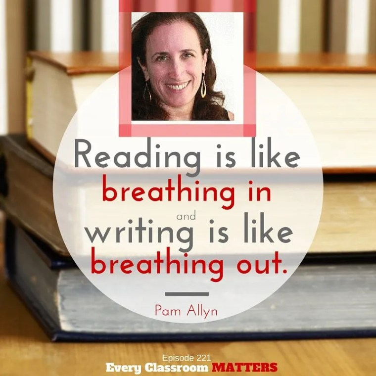 Pam Allyn reading and writing