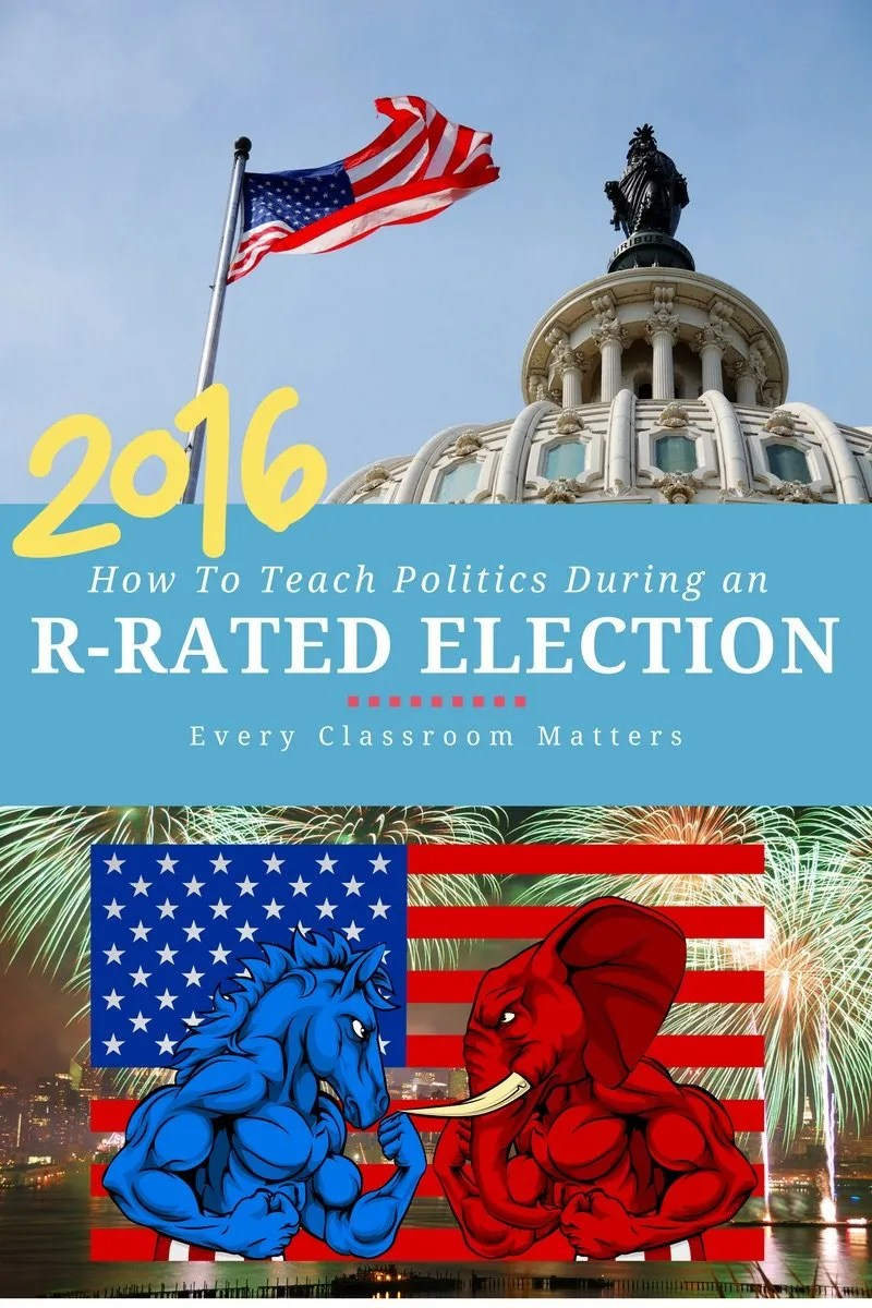 How Do We Teach Politics to Kids During an R-rated election?