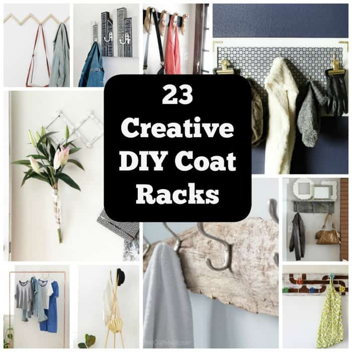23 Clever Diy Coat Rack Ideas For Your Home O Cool Crafts