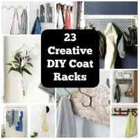 23 Clever DIY Coat Rack Ideas For Your Home  Cool Crafts