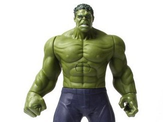 Hulk-Actionfigur-Intro