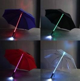 LED-Regenschirm-Übersicht