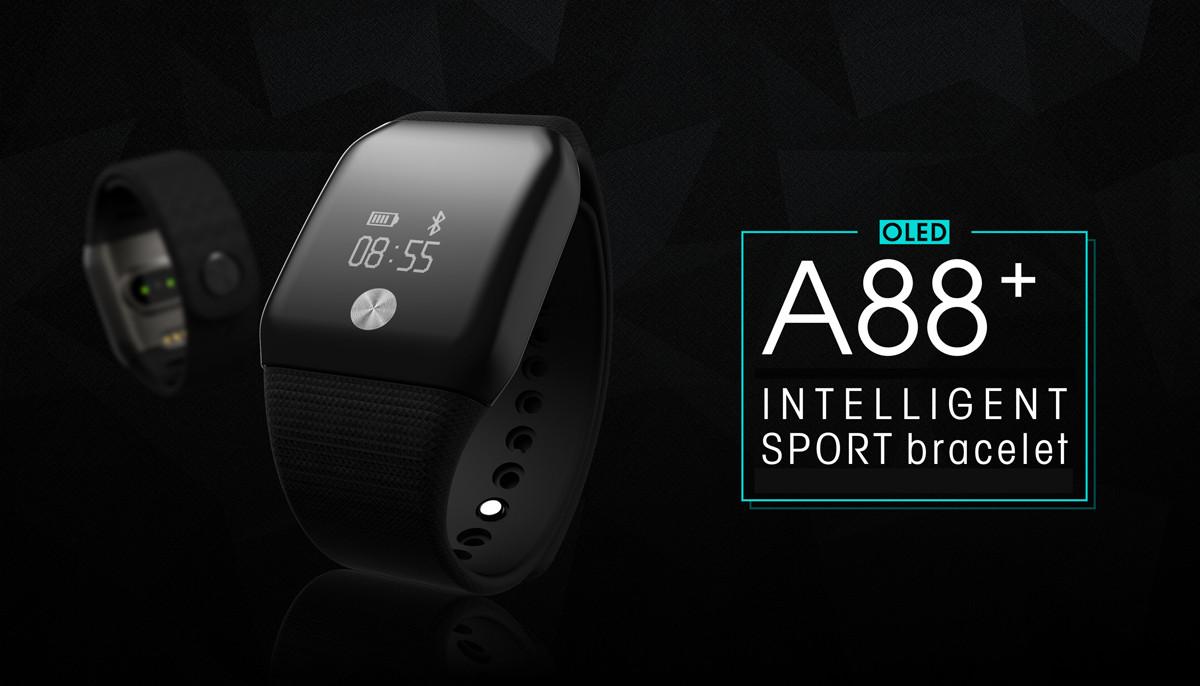 Fitness-Armband mit Erfassung der Herzfrequenz und Sauerstoffsättigung