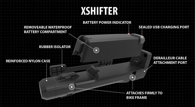 Drahtlose Schaltung zum Nachrüsten für jedes Fahrrad