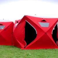 Qube Tents - Vom Wurfzelt zum Würfelzelt