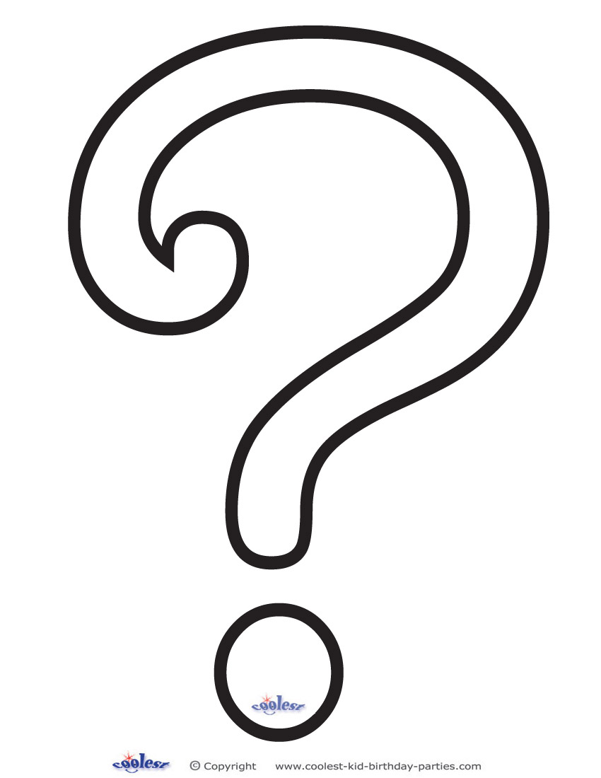 Coloring pages question mark coloring pages question mark printable
