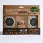 DIY Eco Speakers allow you to decorate and customize