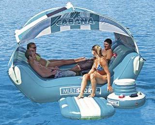 Cabana Islander inflatable raft