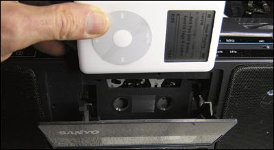 iPod Cassette for Boom Box