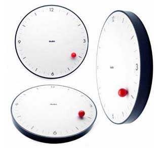 Timesphere clock by Gideon Dagan
