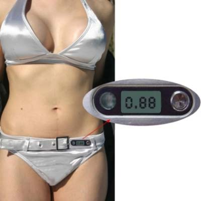 SmartSwim bikini with UV meter