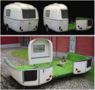 Portable Grass Garden