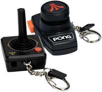 Atari Video Game Key Chains