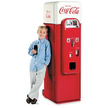 Nostalgic Coca-Cola Machine