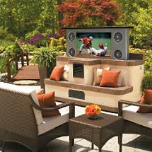 Outdoor Entertainment Island