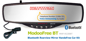 Rear Bluetooth Mirror