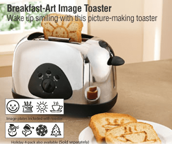 The Breakfast Art Image Toaster