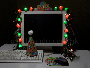 USB Christmas Decoration Kit