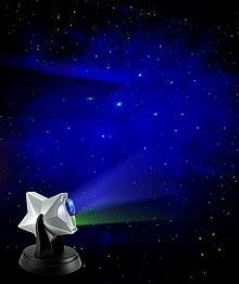 Laser Stars Projector