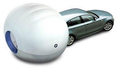 BMW Camping Bubble