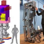 Hajime Research Institute working on a real 13-foot robot