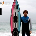 Check out the most advanced surfboard