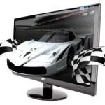 AOC flicker-free 3D monitor